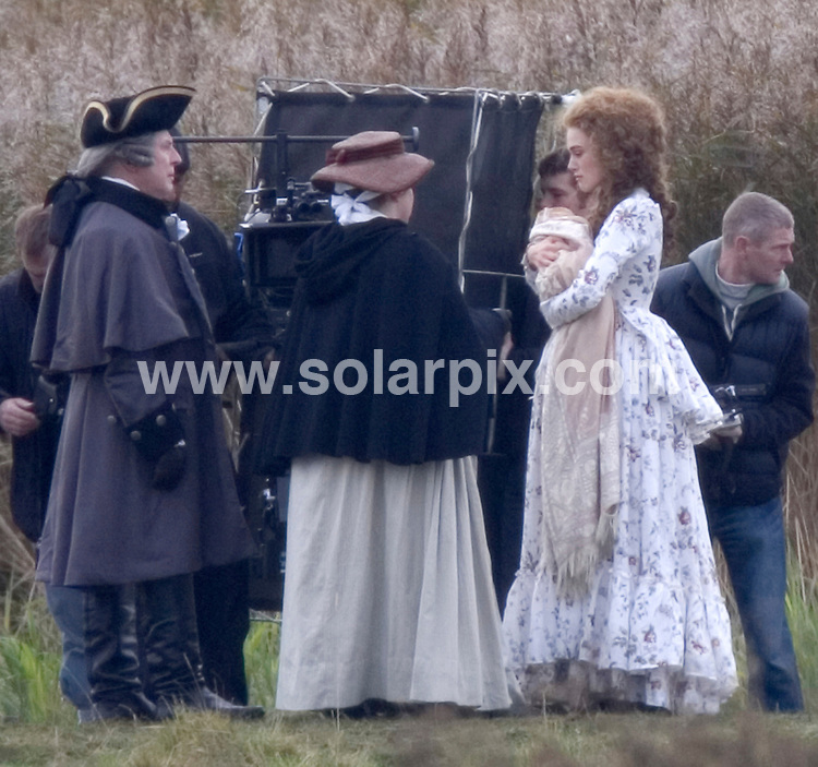 **ALL ROUND PICTURES FROM SOLARPIX.COM**.**WORLDWIDE SYNDICATION RIGHTS**.Keira Knightley and her boyfriend Rupert Friend, on the film set of The Duchess, in Norfolk, UK. 2nd November 2007...This pic: Keira Knightley..JOB REF: 5257  CSH        DATE: 02_11_2007.**MUST CREDIT SOLARPIX.COM OR DOUBLE FEE WILL BE CHARGED* *UNDER NO CIRCUMSTANCES IS THIS IMAGE TO BE REPRODUCED FOR ANY ONLINE EDITION WITHOUT PRIOR PERMISSION*