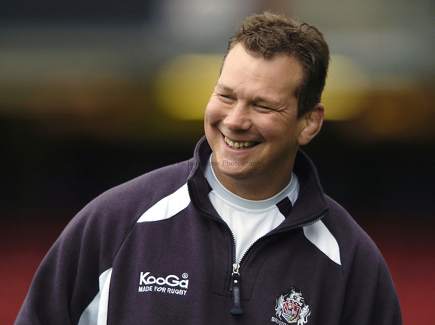 Photo: Jonathan Butler..Saracens v Bristol Rugby. Guinness Premiership. 18/03/2007..Martin Hagg Bristol Assistant coach.