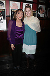 """Valerie Harper & her adopted daughter Cristina Cacciotti<br /> attending the Broadway Opening Night After Party for """"Looped"""" at Sardi's Restaurant in New York City.<br /> March 14, 2010"""