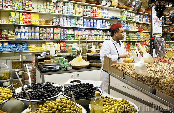 Nederland Beverwijk 2017 . De Bazaar in Beverwijk. De Oosterse Markt. Marokkaanse etenswaren.   Foto mag niet in negative context gebruikt worden.       Foto Berlinda van Dam / Hollandse Hoogte