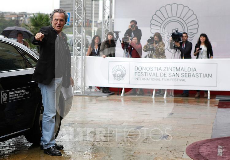 Jose Coronado arrives to Maria Cristina Hotel to attend the 61 San Sebastian Film Festival, in San Sebastian, Spain. September 20, 2013. (ALTERPHOTOS/Victor Blanco)