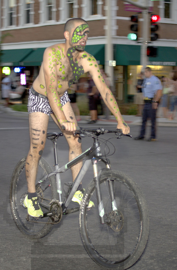 Workd Naked Bike Ride 2012