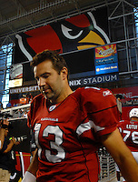 Oct. 16, 2006; Glendale, AZ, USA; Arizona Cardinals quarterback (13) Kurt Warner against the Chicago Bears at University of Phoenix Stadium in Glendale, AZ. Mandatory Credit: Mark J. Rebilas