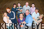 In rehearsals for the Laune Rangers Strictly Come Dancing which will be held in the CYMS on Friday 20th November  are centre Cllr Dan McCarthy and Bridie Courtney, back l-r: Toiréasa Ferris, Tom McGillicuddy, Ann O'Sullivan, Gary Flynn, Johnny Costello, John Francis Flynn, Carina O'Shea and Frank Walsh
