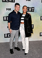 "08 January 2019 - Los Angeles, California - Stephen Oremus and Kiersey Clemons. FOX Hosts ""RENT"" Press Junket held at the FOX Lot. Photo Credit: Faye Sadou/AdMedia"