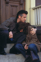 Mystic River (2003)<br /> Sean Penn &amp; Marcia Gay Harden<br /> *Filmstill - Editorial Use Only*<br /> CAP/KFS<br /> Image supplied by Capital Pictures
