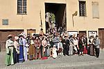 Rievocazione storica ad Exilles, ambientazioni e atmosfere di fine Ottocento