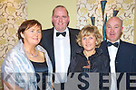 Enjoying the Kerry Stars Black Tie ball in The Malton on Friday night were Nora Ann and Paul McCarthy, Causeway with Kathleen and Dan McAulliffe, Killarney.