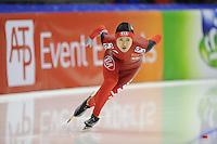 SCHAATSEN: HEERENVEEN: Thialf, World Cup, 02-12-11, 500m A, Beixing Wang CHN, ©foto: Martin de Jong