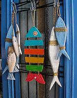 Fish Souvenirs on Kastellorizo, Greece