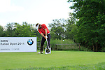Jose Manuel Lara (ESP) tees off on the 6th tee during Day 3 of the BMW Italian Open at Royal Park I Roveri, Turin, Italy, 11th June 2011 (Photo Eoin Clarke/Golffile 2011)