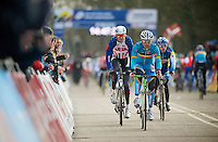 Sven Nys (BEL) warming up <br /> <br /> 2014 UCI cyclo-cross World Championships, EliteMen
