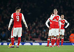 Arsenal's Aaron Ramsey looks on dejected after going 2-0 down to Southampton during the EFL Cup match at the Emirates Stadium, London. Picture date October 30th, 2016 Pic David Klein/Sportimage