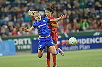 Portland, OR - Saturday July 30, 2016: Beverly Yanez during a regular season National Women's Soccer League (NWSL) match between the Portland Thorns FC and Seattle Reign FC at Providence Park.