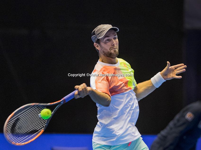 Rotterdam, Netherlands, December 17, 2016, Topsportcentrum, Lotto NK Tennis,  Boy Westerhof (NED) <br /> Photo: Tennisimages/Henk Koster