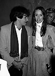 Shelley Duvall & Robin Williams attend a party celebrating the release of TIME BANDITS at the Underground Disco in New York City on <br />