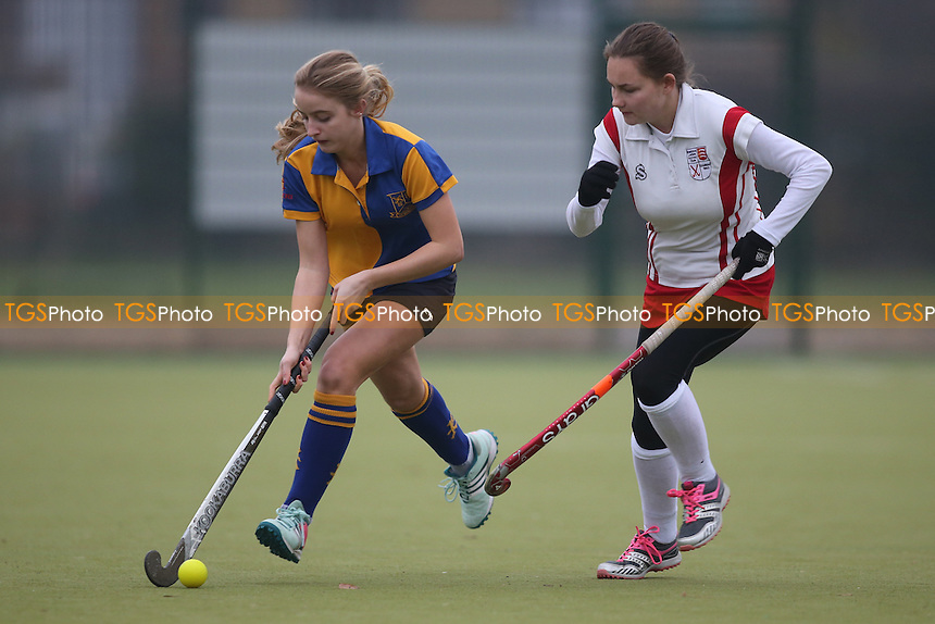 during Upminster HC Ladies 3rd XI vs Basildon HC Ladies 3rd XI, Essex Women's League Field Hockey at the Coopers Company and Coborn School on 10th December 2016