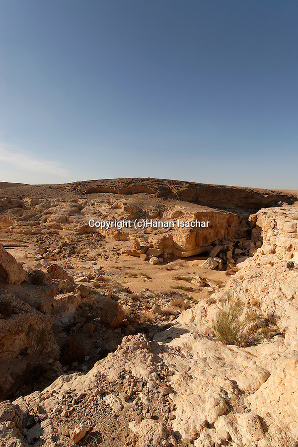 Israel, Wadi Yamin in the Negev desert