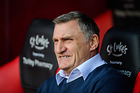 Blackburn Rovers manager Tony Mowbray prior to the game<br /> <br /> Photographer Chris Vaughan/CameraSport<br /> <br /> The EFL Sky Bet Championship - Sheffield United v Blackburn Rovers - Saturday 29th December 2018 - Bramall Lane - Sheffield<br /> <br /> World Copyright © 2018 CameraSport. All rights reserved. 43 Linden Ave. Countesthorpe. Leicester. England. LE8 5PG - Tel: +44 (0) 116 277 4147 - admin@camerasport.com - www.camerasport.com