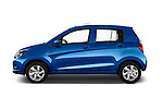 Car Driver side profile view of a 2015 Suzuki CELERIO Grand Luxe Xtra 5 Door Hatchback Side View