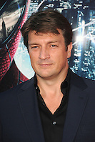 Nathan Fillion at the premiere of Columbia Pictures' 'The Amazing Spider-Man' at the Regency Village Theatre on June 28, 2012 in Westwood, California. &copy; mpi35/MediaPunch Inc. /*NORTEPHOTO.COM*<br />