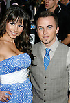 """HOLLYWOOD, CA. - April 30: Frankie Muniz and guest arrive at the Los Angeles premiere of """"Star Trek"""" at the Grauman's Chinese Theater on April 30, 2009 in Hollywood, California.a"""