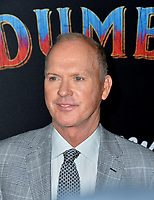 LOS ANGELES, CA. March 11, 2019: Michael Keaton at the world premiere of &quot;Dumbo&quot; at the El Capitan Theatre.<br /> Picture: Paul Smith/Featureflash