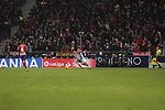 Atletico de Madrid's Angel Martin Correa and RCD Espanyol's Leo Baptistao during La Liga match between Atletico de Madrid and RCD Espanyol at Wanda Metropolitano Stadium in Madrid, Spain. December 22, 2018. (ALTERPHOTOS/A. Perez Meca)