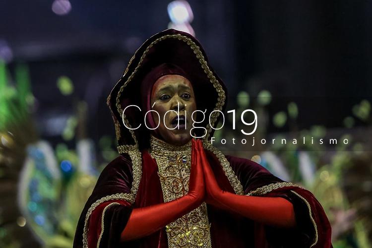 SAO PAULO, SP, 21/02/2020 - Carnaval 2020 -SP- Carnaval 2020, Desfile da Escola de Samba Mancha Verde pelo grupo especial, no Sambodromo do Anhembi em Sao Paulo, SP, nesta sexta-feira (21). (Foto: Marivaldo Oliveira/Codigo 19/Codigo 19)