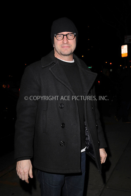 WWW.ACEPIXS.COM . . . . . .January 18, 2012...New York City....Steven Soderbergh attends the Cinema Society  screening of 'Haywire' at Landmark Sunshine Cinema on January 18, 2012 in New York City. ....Please byline: KRISTIN CALLAHAN - ACEPIXS.COM.. . . . . . ..Ace Pictures, Inc: ..tel: (212) 243 8787 or (646) 769 0430..e-mail: info@acepixs.com..web: http://www.acepixs.com .