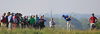Christo Lamprecht (RSA) on the 15th tee during Round 4 of the East of Ireland Amateur Open Championship 2018 at Co. Louth Golf Club, Baltray, Co. Louth on Monday 4th June 2018.<br /> Picture:  Thos Caffrey / Golffile<br /> <br /> All photo usage must carry mandatory copyright credit (&copy; Golffile | Thos Caffrey)