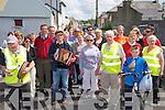 Ballylongford Fun Wallk: Participants setting off on the 5K Fun, Run Walk in aid of the Ballylongford Old School Reunion on Sunday last.