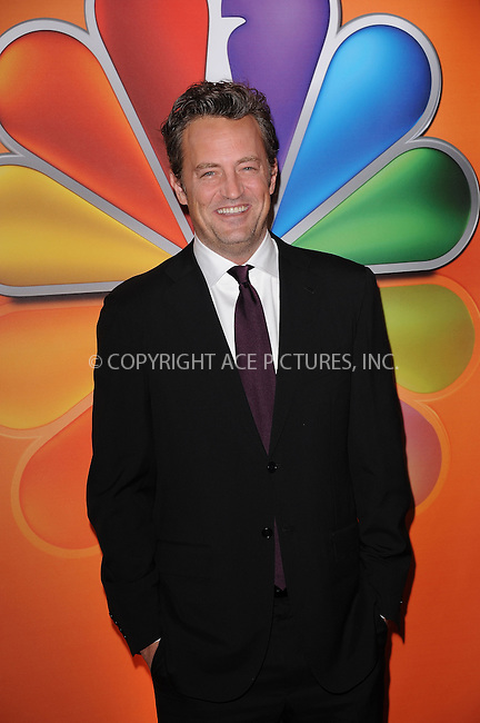 WWW.ACEPIXS.COM . . . . . ....May 14 2012, New York City....Matthew Perry at NBC's Upfront Presentation at Radio City Music Hall on May 14, 2012 in New York City. ....Please byline: KRISTIN CALLAHAN - ACEPIXS.COM.. . . . . . ..Ace Pictures, Inc:  ..(212) 243-8787 or (646) 679 0430..e-mail: picturedesk@acepixs.com..web: http://www.acepixs.com