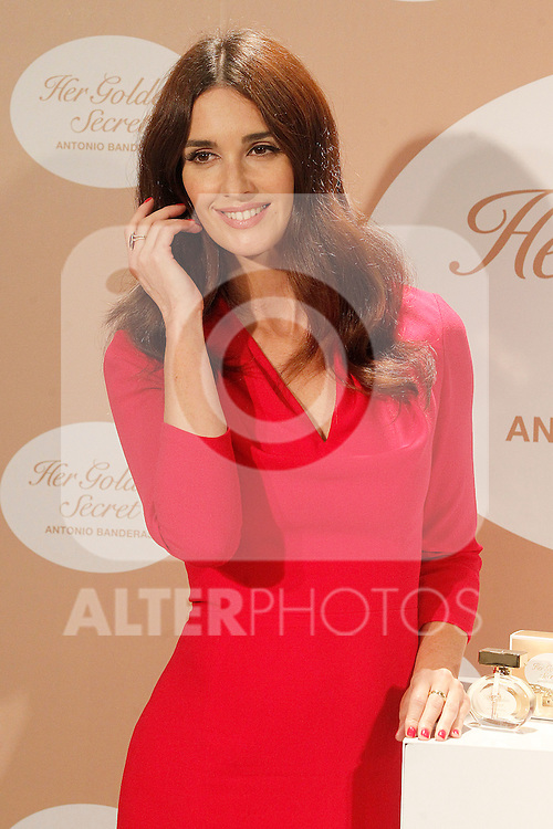 Spanish actress Paz Vega attends the presentation of the perfume 'Her Golden Secret'. September 10, 2013. (ALTERPHOTOS/Acero)