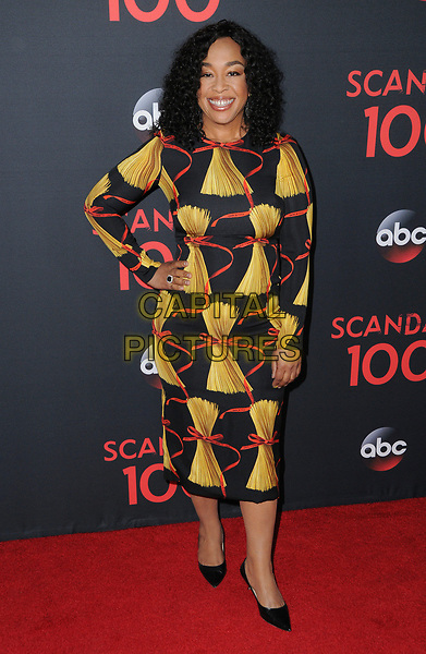 08 April 2017 - West Hollywood, California - Shonda Rhimes. ABC's 'Scandal' 100th Episode Celebration held at Fig &amp; Olive in West Hollywood.   <br /> CAP/ADM/BT<br /> &copy;BT/ADM/Capital Pictures