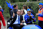 Francesco Molinari at the opening ceremony ot the 2010 Ryder Cup, Celtic Manor, Newport, Wales, Thursday 30th September 2010..(Picture Manus O'Reilly/www.golffile.ie)