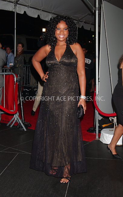 WWW.ACEPIXS.COM . . . . . ....October 5 2007, New York City....Actress Jennifer Hudson arriving at New Line Cinema's 40th Anniversary celebration at the Fredrick P. Rose Hall in the  Lincoln Center in Manhattan....Please byline: KRISTIN CALLAHAN - ACEPIXS.COM.. . . . . . ..Ace Pictures, Inc:  ..(646) 769 0430..e-mail: info@acepixs.com..web: http://www.acepixs.com