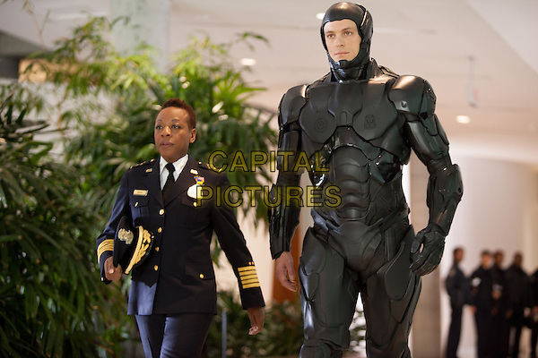 Marianne Jean-Baptiste &amp; Joel Kinnaman <br /> in RoboCop (2014) <br /> *Filmstill - Editorial Use Only*<br /> CAP/FB<br /> Image supplied by Capital Pictures