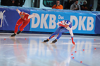 SPEED SKATING: STAVANGER: Sørmarka Arena, 31-01-2016, ISU World Cup, 500m Men Division A, Ruslan Murashov (RUS), ©photo Martin de Jong