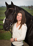 Emilie Paillot with horse Pakkato Alia, in Poliez-Pittet.