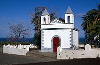 Spanien, Kanarische Inseln, La Palma, Kapelle in San Andres