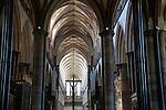 Cross of Salisbury Cathedral Nave, Salisbury; England; UK