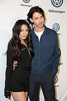 LOS ANGELES - NOV 30:  Vanessa Hudgens, Austin Butler at the Volkswagen's Annual Holiday Drive-In on the Goya Studios on November 30, 2018 in Los Angeles, CA