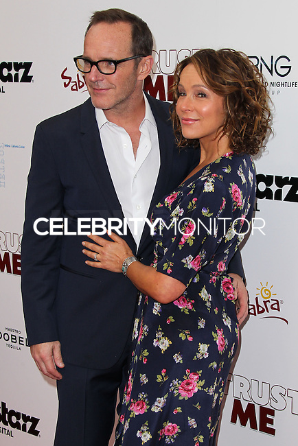 HOLLYWOOD, LOS ANGELES, CA, USA - MAY 22: Clark Gregg, Jennifer Grey at the Los Angeles Premiere Of 'Trust Me' held at the Egyptian Theatre on May 22, 2014 in Hollywood, Los Angeles, California, United States. (Photo by Xavier Collin/Celebrity Monitor)