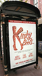 'Kinky Boots' Theatre Marquee at the Bank Of America Theatre in Chicago 10/26/2012