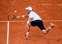 ROBERTO BAUTISTA AGUT (ESP)<br /> <br /> TENNIS - FRENCH OPEN - ROLAND GARROS - ATP - WTA - ITF - GRAND SLAM - CHAMPIONSHIPS - PARIS - FRANCE - 2018  <br /> <br /> <br /> <br /> &copy; TENNIS PHOTO NETWORK