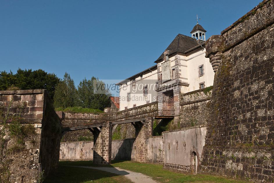 Europe/France/Aquitaine/64/Pyrénées-Atlantiques/Pays-Basque/Saint-Jean-Pied-de-Port: La Citadelle