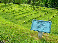 Unmarked grave sites in Vicksburg National Military Park