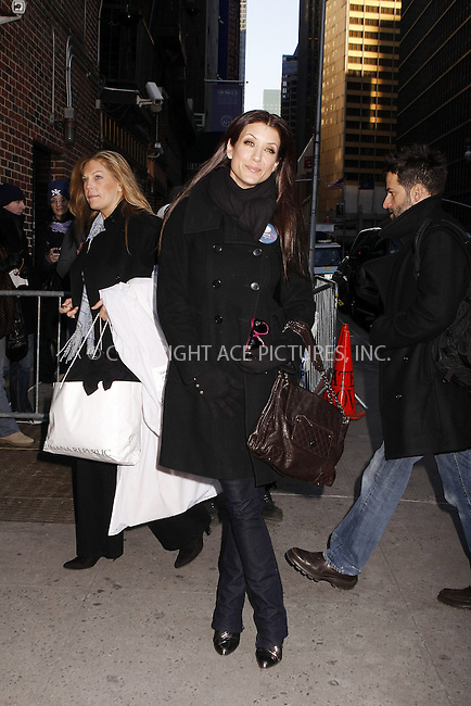 WWW.ACEPIXS.COM . . . . . ....February 11 2008, New York City....Actress Kate Walsh at the 'Late Show With David Letterman' at the Ed Sullivan Theatre.....Please byline: AJ SOKALNER - ACEPIXS.COM.. . . . . . ..Ace Pictures, Inc:  ..(646) 769 0430..e-mail: info@acepixs.com..web: http://www.acepixs.com