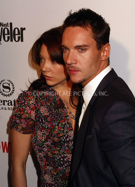 "WWW.ACEPIXS.COM . . . . .  ....March 19 2008, New York City....Actors Natalie Dormer and Jonathan Rhys Meyers  at the World Premiere party for Season Two of the Showtime Original series ""The Tudors"" at the Sheraton New York Hotel & Towers....Please byline: AJ Sokalner - ACEPIXS.COM..... *** ***..Ace Pictures, Inc:  ..te: (646) 769 0430..e-mail: info@acepixs.com..web: http://www.acepixs.com"